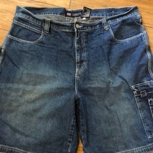 Faded Glory size 40 blue jean shorts